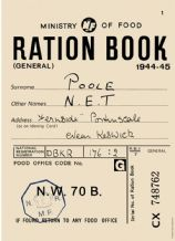 Ration Book A5 Metal Wall Sign